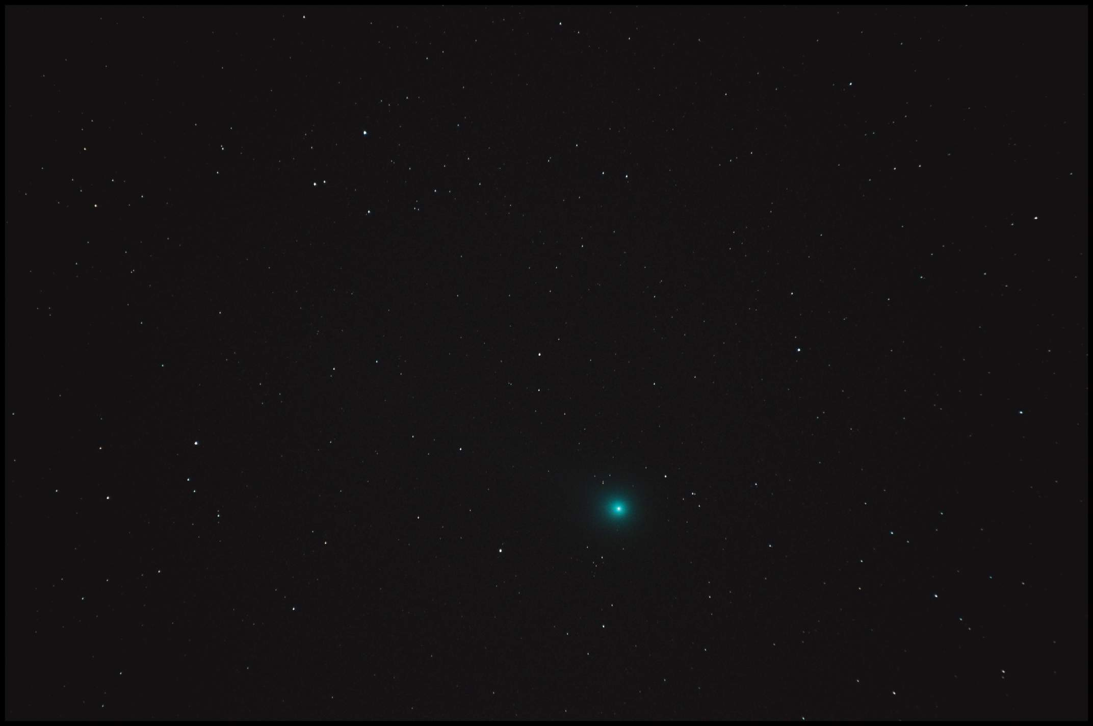 Lovejoy 270mm 2x30s ISO 3200 1